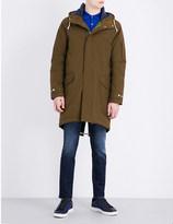 Paul Smith Fishtail cotton-blend parka coat