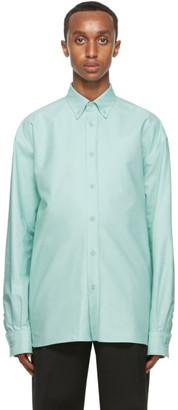 Bottega Veneta Green Poplin Shirt
