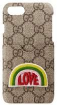 Gucci Gg Love Iphone 7 Case - Beige