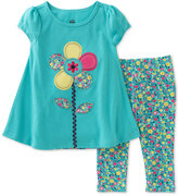 Kids Headquarters 2-Pc. Tunic & Capri Leggings Set, Baby Girls (0-24 months)