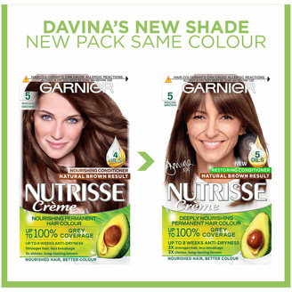 Garnier Nutrisse Permanent Hair Dye (Various Shades) - 5 Mocha Brown