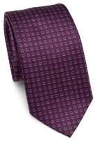 Salvatore Ferragamo Gancini Horseshoe Silk Tie