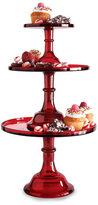 Red Cake Stands