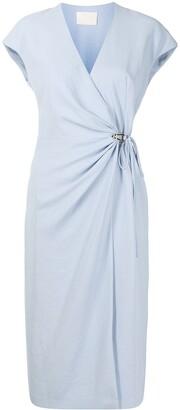 Dion Lee Gathered Wrap Dress