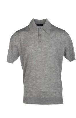 Prada Button-Up Polo Shirt