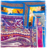 Etro printed scarf - women - Silk/Wool - One Size
