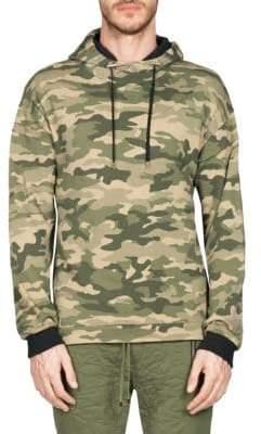 Balmain Camouflage Sweatshirt