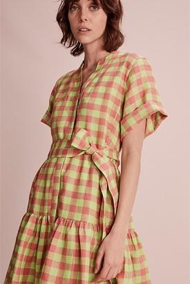 Country Road Check Mini Dress