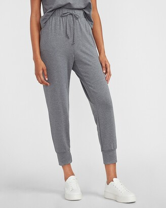 Express High Waisted High Cuff Jogger Pant
