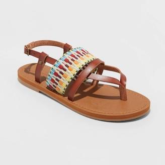 Universal Thread Women's Senora Ankle Strap Thong Sandals - Universal ThreadTM