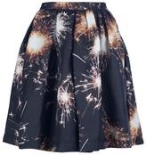 MSGM Firework printed skirt