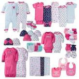 Gerber Layette Girl Princess Separates Collection in Pink/Navy/Teal