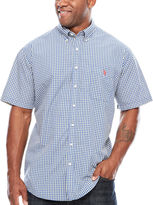 USPA U.S. Polo Assn. Button-Front Shirt-Big and Tall
