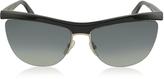 Marc Jacobs MJ 533/S 8OGDX Frameless Black Acetate Women's Sunglasses