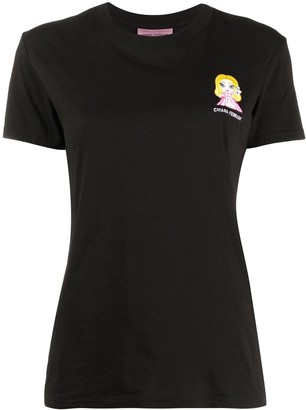 Chiara Ferragni @cfmascotte crew-neck T-shirt