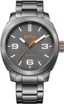 HUGO BOSS Cape Town Casual Grey Dial Stainless Steel Bracelet Mens Watch
