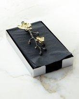 Michael Aram Gold Orchid Guest Towel Holder