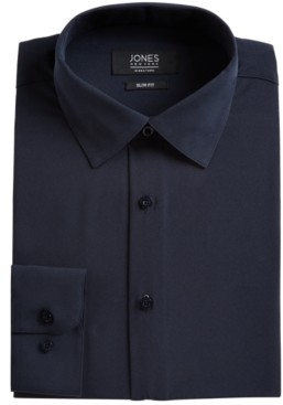 Jones New York Men's Slim-Fit Stretch Cooling Tech Dress Shirt