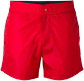 Moncler logo patch swimming trunks