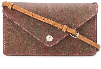 Etro Paisley-Print Clutch Bag