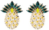Anton Heunis 'Ananas' Swarovski crystal and pearl pineapple earrings