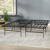Box Spring & Bed Frame Alwyn Home Mattress Size: King