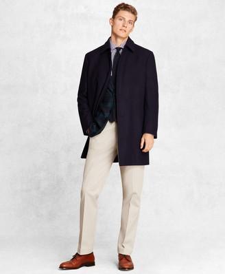 Brooks Brothers Golden Fleece Wool Topcoat