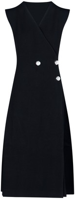 Jil Sander Midi Wrap Dress