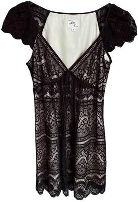 Milly Black Lace Dress for Women