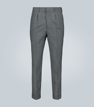Ami Straight-fit formal wool pants