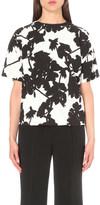 Sportmax Floral-print woven top