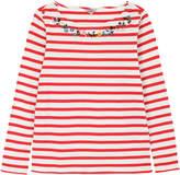 Cath Kidston Breton Stripe Cotton Jersey Top
