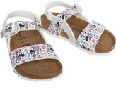 Birkenstock Girls Isabella Birko-Flor Narrow Fit Sandals Lovely Minnie White