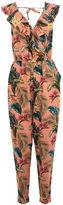 Oasis Tropical Print Jumpsuit