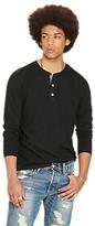 Denim & Supply Ralph Lauren Long Sleeve Knitted Henley Top