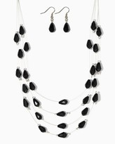 Charming charlie Harmony Illusion Necklace Set
