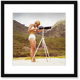 "Photos.com by Getty Images Bikini Girl and Camera - Tom Kelley - 16.5""L x 16.5""W Art"