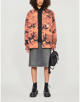 McQ Camouflage-print cotton jacket
