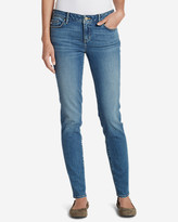 Eddie Bauer Women's Elysian Slim Straight Jeans - Slightly Curvy