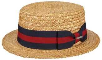 Stetson Boater Straw Hat