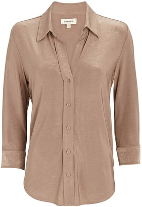 L'Agence Dani Button-Down Shirt