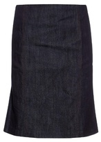 Tomas Maier High-waist denim skirt