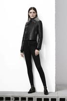 J Brand Natasha Sky High Skinny in Seriously Black