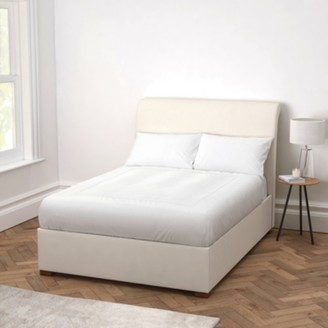 The White Company Thurloe Bed Cotton, Pearl Cotton, King