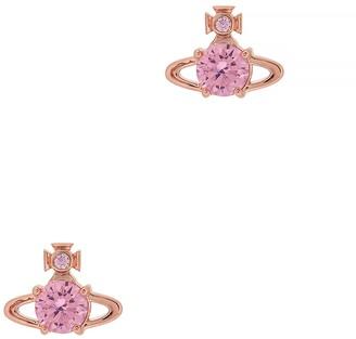 Vivienne Westwood Reina Crystal-embellished Stud Earrings