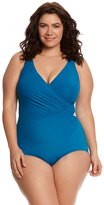 Miraclesuit Plus Size Solid Oceanus One Piece Swimsuit 7536988