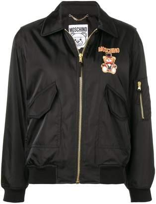 Moschino Circus Bear bomber jacket
