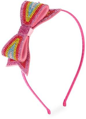 Bari Lynn Rainbow Bow Headband