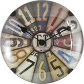 Asstd National Brand Axel Dome Wall Clock