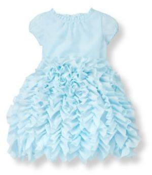 Janie and Jack Ruffle Tiered Voile Dress